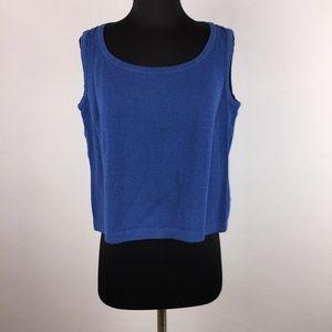 St. John Sport M Knit Wool Rayon Blend Tank Top